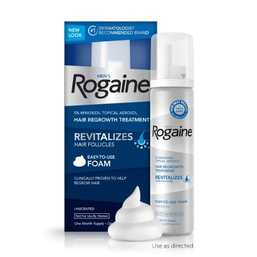 Rogaine Regrowth Treatment Minoxidil Unscented