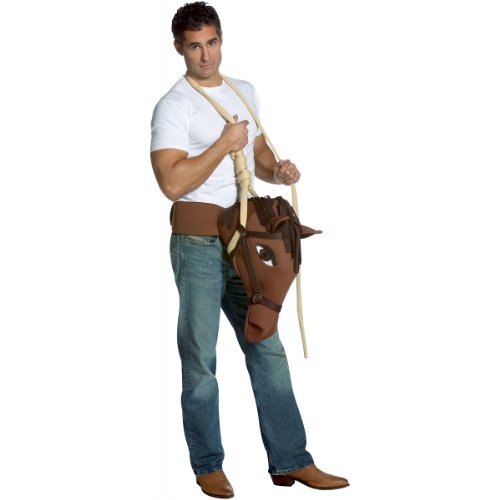 Hung Like a Horse Costume - One Size - Chest Size (Man In Horse Costume)