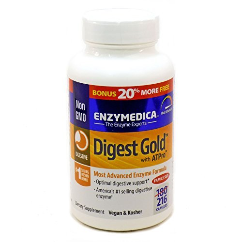 Digest Gold with ATPro By Enzymedica - 216 - Capsules 216