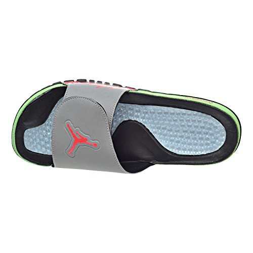 0d0125b6d390ab best Jordan Hydro V Retro Men s Sandals Black Infrared 23 Light Poison  555501-