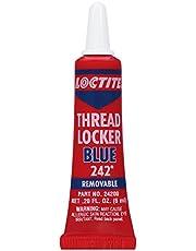 Loctite Thread Locker Blue 242 Locking Compound, Removable, 6ml (303379)