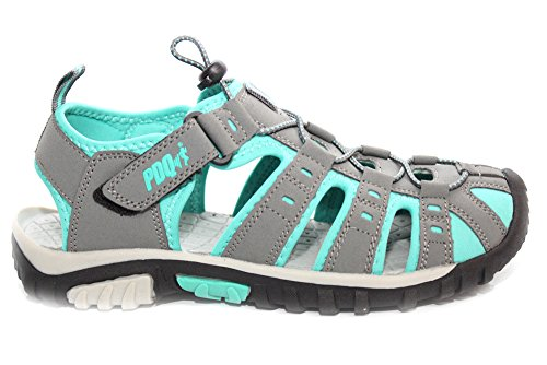 Damen PDQ Sandalen, geschlossene Zehenpartie, Sport-Sandalen, Größe 36-42 (UK-Größe 3