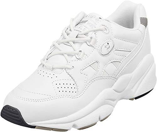 Propet Women's W2034 Stability Walker Sneaker,White,8 X (US Women's 8 EE)