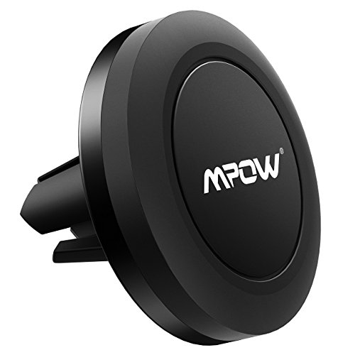 Car Phone Mount,Mpow Magnetic Air Vent Car Mount Universal Phone Holder Cell Phone Car Cradle for iPhone X iPhone 8/8Plus/7/7Plus/6s/6/6 Plus, Samsung Galaxy a5/note 8/S8 Plus/S7/S6 Edge/S6/S5 LG Huawei and Other Smartphones - Black