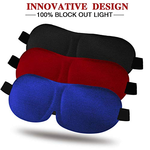 Contoured Blindfold Comfortable Sleeping Adjustable product image