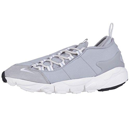 Nike Mens Air Footscape Nm Scarpe Da Allenamento Lupo Grigio-sommità Bianco-nero