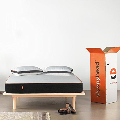 Sleepyhead 3 Layered Medium Firm Memory Foam Mattress, 78x60x6 inches (Queen Size)