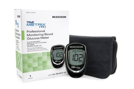 McKesson TRUE METRIX® PRO Professional Monitoring Blood Glucose Meter – 1/box