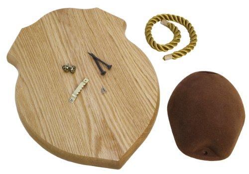 Walnut Hollow Country Antler Mount & Display Kit, Oak>