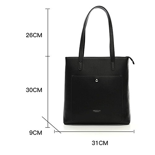Bag Large Bag Bag Casual Women Bag Shoulder Big Female Bag Black Big Single Capacity qSnnxRa5