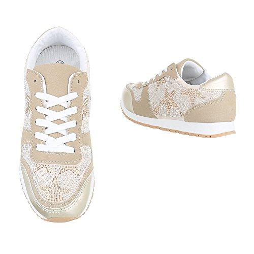 Gold top Low design Donna Ital AwSXq06xI