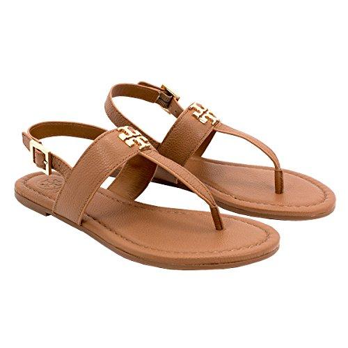 Tory Burch Reva Womens Leather Flats Shoes - 7