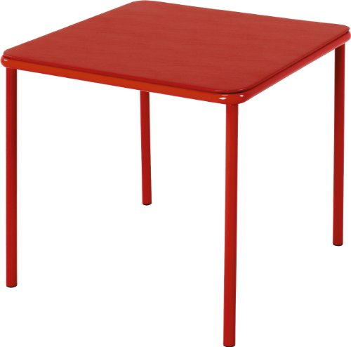 Cosco Kid's Vinyl Top Table Red by Cosco