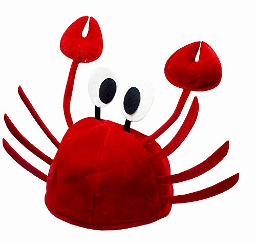 Nicky Bigs Novelties Crazy Crab Cap Red - http://coolthings.us