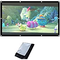 Jambar Eyelet Projector Screen Size ( 7 X 5 ) Foldable