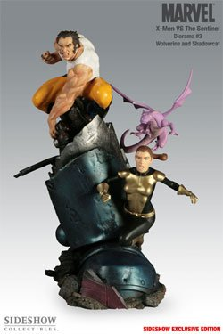 MARVEL Dioramas: X-Men vs. Sentinel #3 - Wolverine & Shadowcat by Sideshow Collectibles!