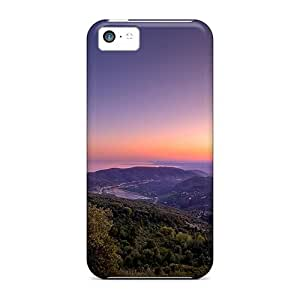 New Arrival Case Cover With PkJ1334zXVt Design For Iphone 5c- Panoramic Sunset by lolosakes