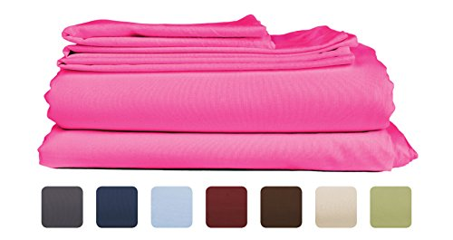 California King Size Sheet Set - 6 Piece Set - Hotel Luxury Bed Sheets - Extra Soft - Deep Pockets - Easy Fit - Breathable & Cooling - Wrinkle Free - Silk King Fitted Sheet California
