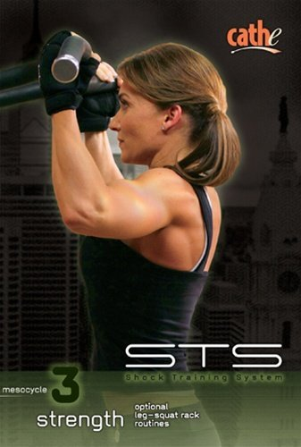 Cathe Friedrich STS - Mesocycle #3 Strength - optional Squat rack routines 4 DVD set - Region 0 Worldwide by Cathe Friedrich ()