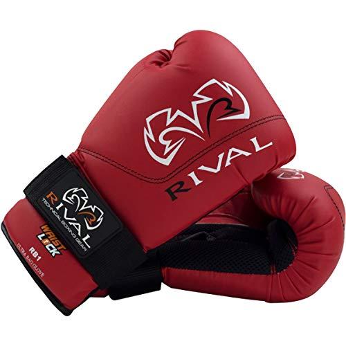 Rival Boxing Gloves-RB1 Ultra Bag Gloves (Red, 10oz)
