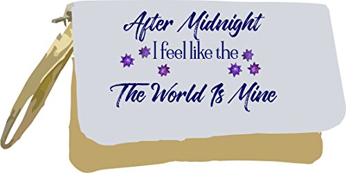 After Midnight is Metallic Like Gold I Clutch Night Mine Statement Bag Quote Owl Feel Gold World The qfWdqZrxn