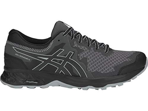 ASICS Men's Gel-Sonoma 4 Running Shoes, 10M, Black/Stone Grey (Asics Running Shoes Trail Men)