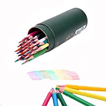 1Box(12PCS) Chalk Markers-- Assorted Colors Water Soluble Pencil Tracing Tools for Tailor's Sewing Marking And Students Drawing