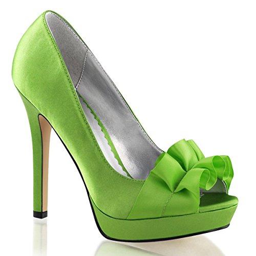 Heels-Perfect - Zapatos de vestir de Material Sintético para mujer Verde - verde (verde)