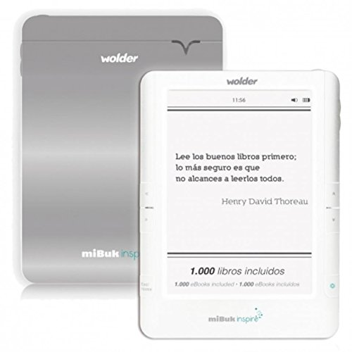 Wolder - Mibuk inspire 6 e-ink pearl wifi tactil retroiluminado - D01EB0089