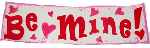 Valentine Reusable Gel Window Clings ~ Be Mine with Fun Hearts (14 Clings, 1 Sheet)
