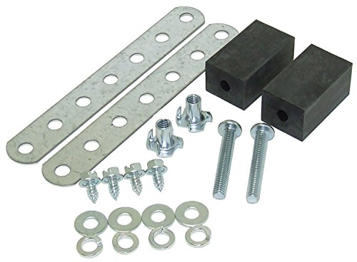 Hayden Automotive 238 Rubber Block Mounting System (1989 Toyota Corolla Rubber)