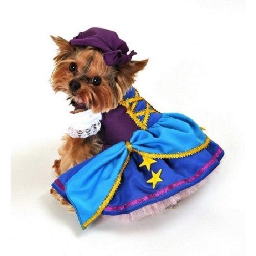 Gypsy Princess Halloween Costumes (Domestic Pet Happy Halloween Gypsy Princess Dog Costume)