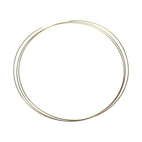 8 Ft latón alambre de traste Diapasón Trastes 1,5 mm de ancho para banjo mandolina címbalo: Amazon.es: Instrumentos musicales