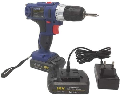 Taladro eléctrico a batería 18 V Hágalo usted mismo ...