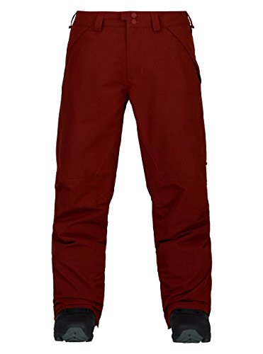 Burton Men's Vent Pants, Fired Brick, Large (Vent Mens Snowboard Pant)