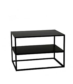 Basse En 40cm X Largeur Métal Longueur Pomax Noir Table 60cm 9WD2EHI