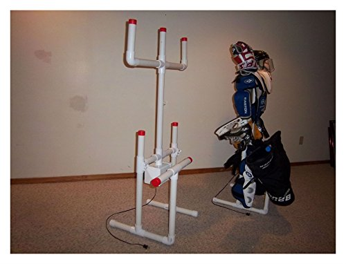 HOCKEY DRYING RACK TREE SPORTS EQUIPMENT ACCESSORIES (Hockey Dryer)