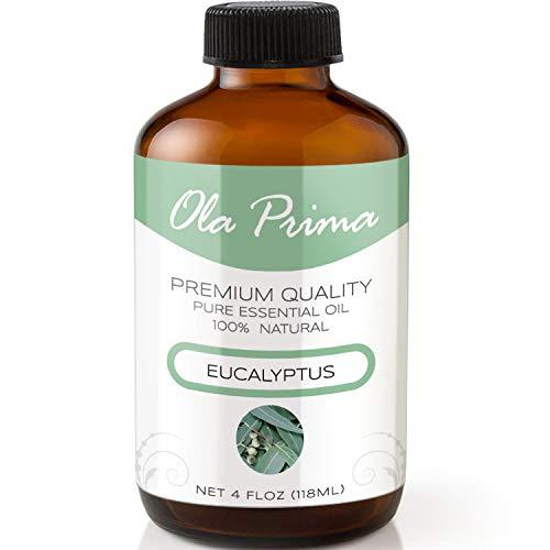 4oz - Premium Quality Eucalyptus Essential Oil (4 Ounce Bottle with Dropper) Therapeutic Grade Eucalyptus Oil