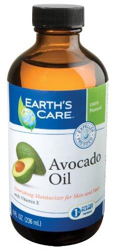 - Earth's Care Avocado Oil 8 Fl. Oz.-lot of 6 Bottles