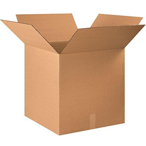 BOX USA B222222240PK Corrugated Boxes, 22''L x 22''W x 22''H, Kraft (Pack of 240) by BOX USA