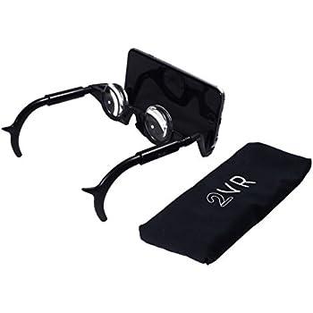 Stimuli VR 2VR - Black  Thin Mobile Hands Free, 3D Glasses