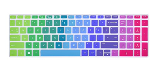 Colorful Keyboard Cover for 2018 HP 17.3 Inch Flagship Lapto