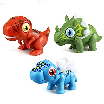 SilverLit : Robots Gloopies Dino 3 Assorted Colors: Toys & Games