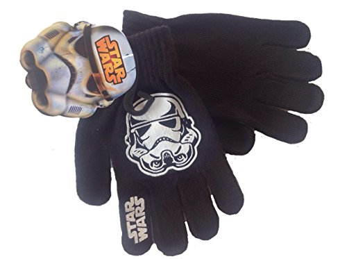 Star Wars Storm Trooper Boys Knit Winter Gloves for $<!--$7.90-->