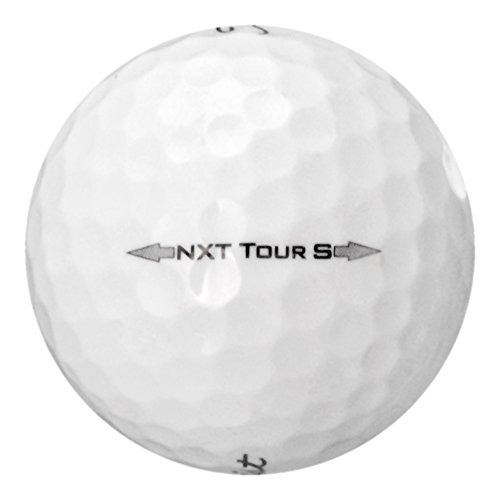 100 Titleist NXT Tour S - Near Mint (AAAA) Grade - Recycled (Used) Golf Balls by Titleist