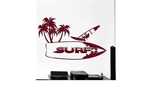 guijiumai Calcomanías de Surf Teen Boy Dormitorio Pegatinas de ...