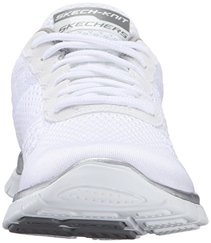 SkechersFlex Appeal - Obvious Choice - Zapatillas mujer Blanco (Blanco (WSL))