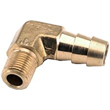 1/2x3/8MPT Barb Elbow by Anderson Metals Corp