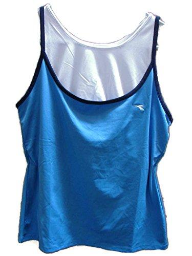 Dames Diadora Diadry Vochttransporterende Tennis Workout Fitness Mia Tank