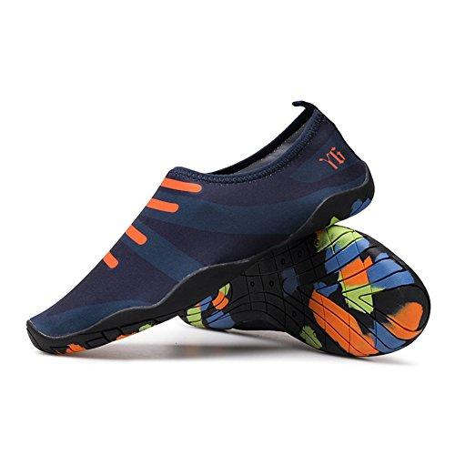 zapatos suela aguas descalzos playa aptitud cómodos de zapatos C natación elásticos la de Zapatos SHINIK zapatos de la arriba transpirables gruesa de de de zapatos yoga 758Twq